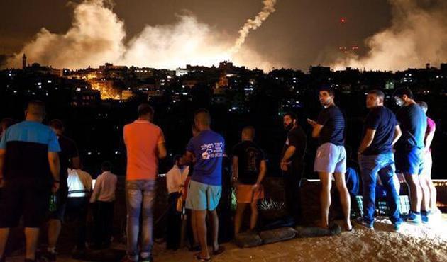 Filistin'den İsrail'e yangın tepkisi