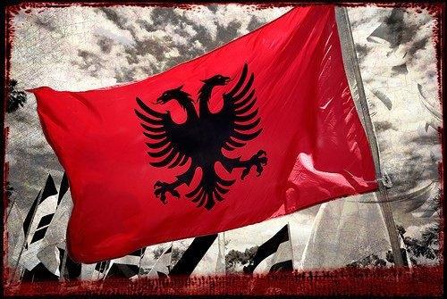 Arnavutlar 'Bayrak ve Bağımsızlık Günü'nü kutladı