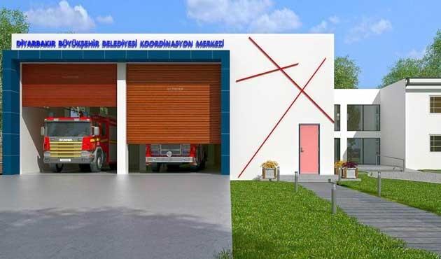 Bismil Koordinasyon Merkezi gelecek yıl hizmete açılacak