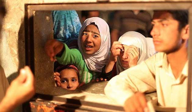 Bombalardan kurtulan Haleplileri bekleyen tehlike: Açlık