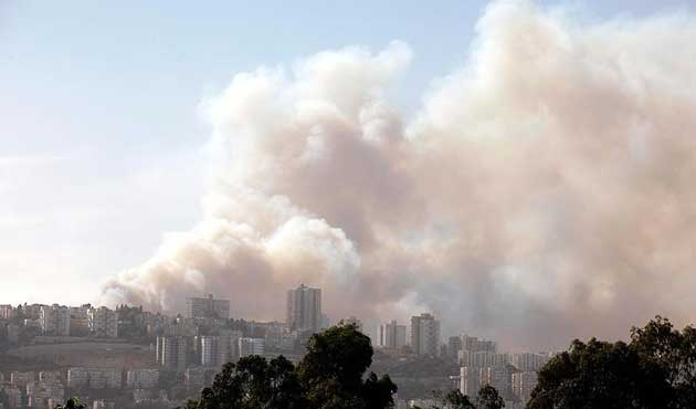 İsrail'deki yangının bilançosu açıklandı