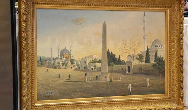 Guillaumet'in 'Sultan Ahmet Meydanı' tablosu satıldı