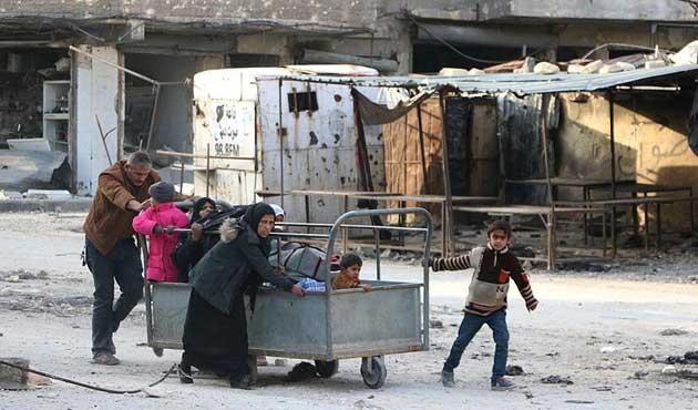 'Batı, Halep'teki dramı durdurmakta yetersiz'