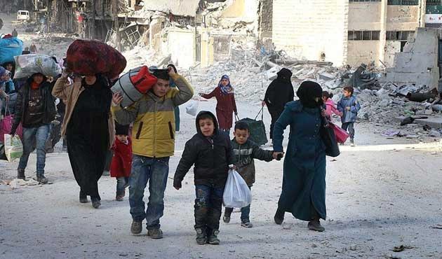 Halep'teki saldırılara tepkiler büyüyor