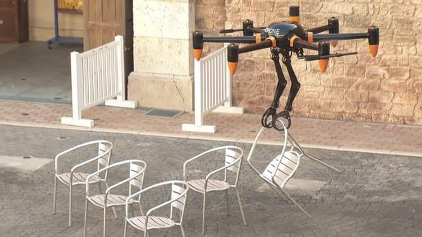 Japonlar robotlu drone geliştirdi | VİDEO