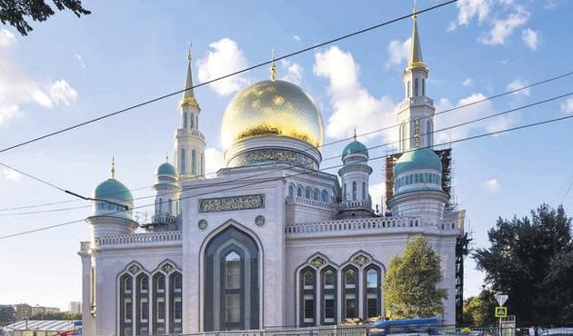 Moskova'ya beşinci cami geliyor