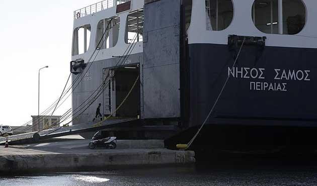 Yunanistan'da tüm deniz seferleri durdu
