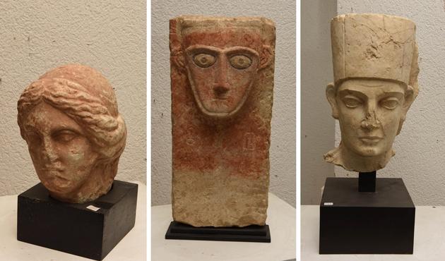DEAŞ'ın imha ettiği Palmira eserleri Cenevre'de!