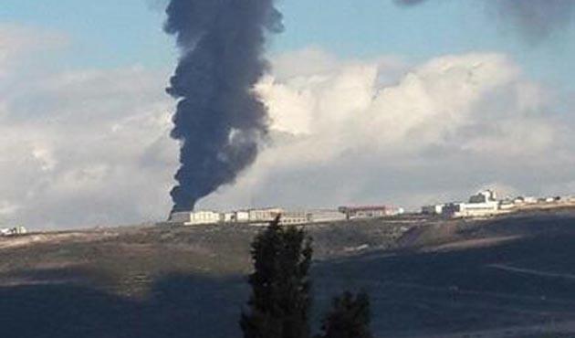 Kocaeli Dilovası'nda büyük yangın   VİDEO