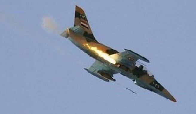 Halep'te Esad rejimine ait savaş uçağı düşürüldü