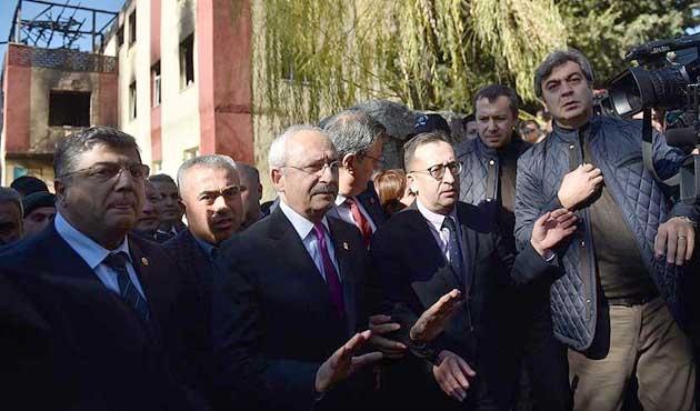 Kemal Kılıçdaroğlu Aladağ'da