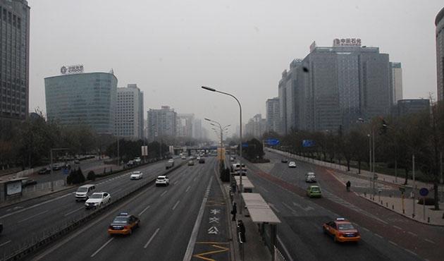 Çin'de hava kirliliği üst sınırdan 20 kat fazla