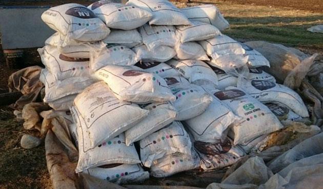 Sur'da 2,5 ton patlayıcı ele geçirildi