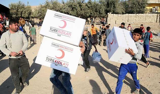 Türk Kızılayı Irak'ta yaraları sarıyor
