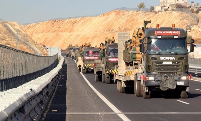 Profesyonel komando birlikleri El Bab'a giriş yaptı