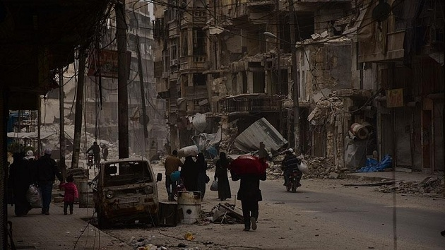 Halep'te ölümden çaresizliğe kaçış