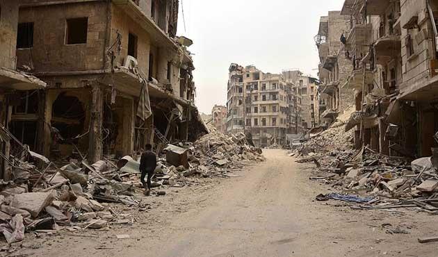 Halep'te yine sivil yerleşim yerlerine saldırı: 46 ölü