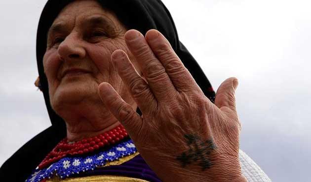Hırvat kadınların asırlık dövme geleneği