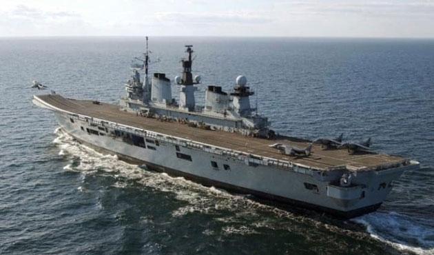 İngiltere'nin son uçak gemisi Türkiye'ye satıldı