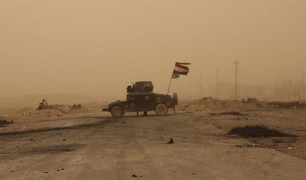 Irak güçleri Telafer'deki stratejik köyü aldı