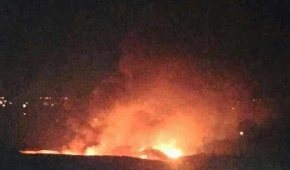 Şam askeri havalimanında patlamalar | VİDEO