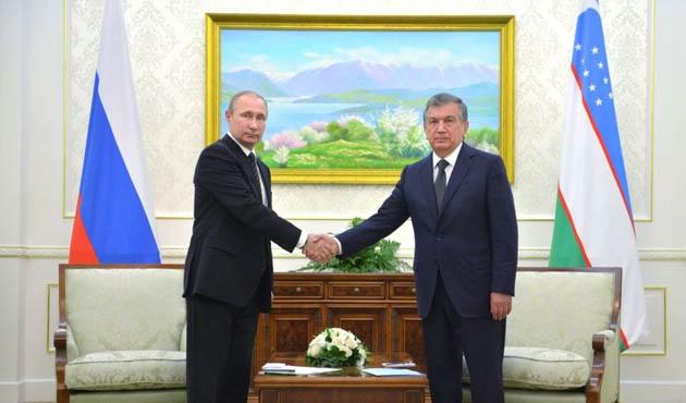 Özbekistan'ın yeni liderinin ilk ziyareti Rusya'ya