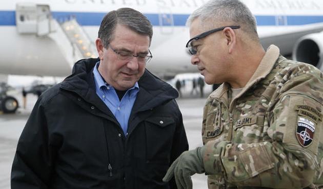 ABD ve Fransa savunma bakanları Bahreyn'de