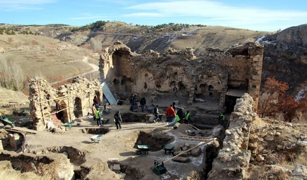 Elazığ'da 165 yıllık kitabe bulundu