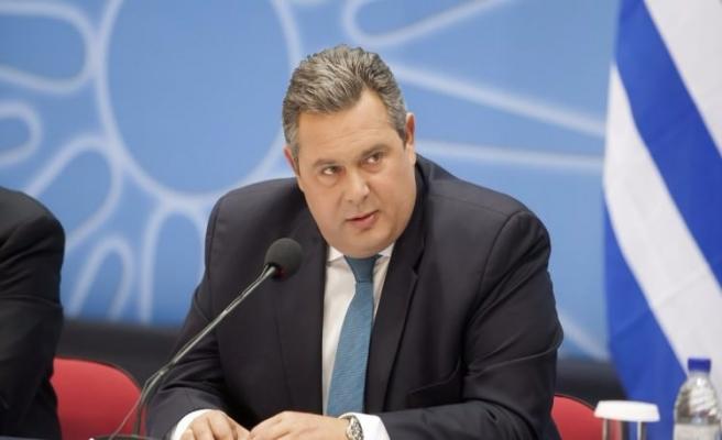 Yunan bakandan Türkiye'ye örtülü tehdit