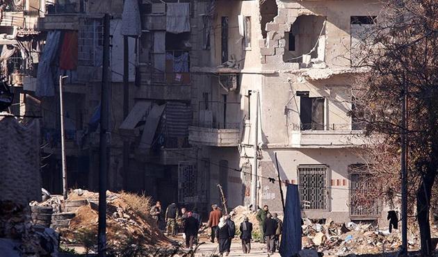 Halepli siviller tahliye edilmeyi bekliyor