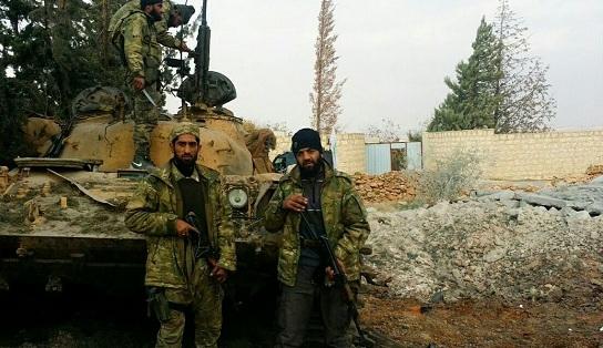 Ahrar'üş Şam da El-Bab operasyonunda | FOTO