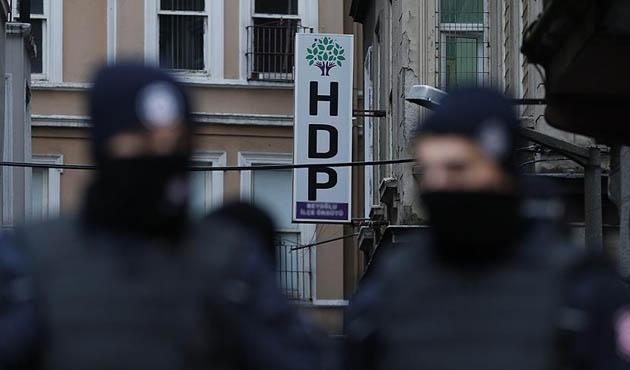 Beş ilde HDP'ye terör operasyonu; 118 gözaltı