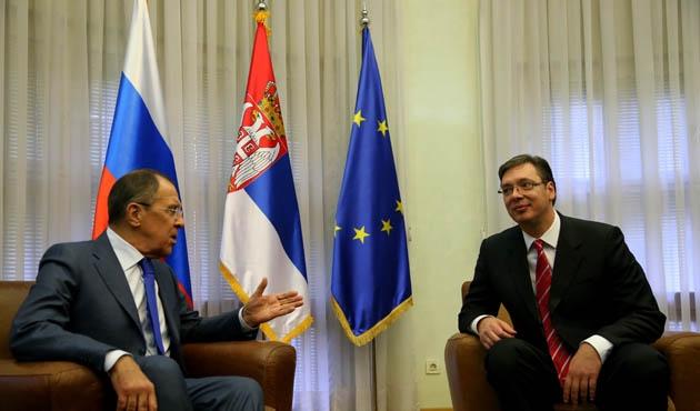 Rusya Dışişleri Bakanı Lavrov Sırbistan'da