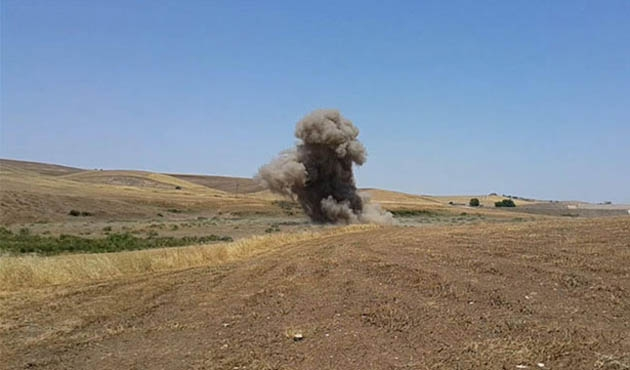 Diyarbakır'da terör operasyonunda 36 kilo EYP