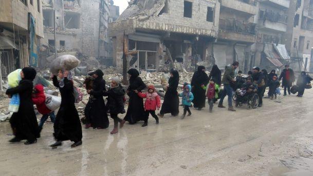 Halepli muhacirlere acil yardım kampanyası