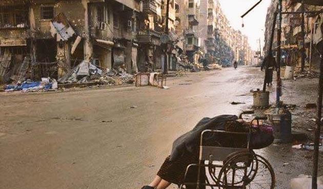 '(Halep'te) Çocukların cesetleri kömür oldu'