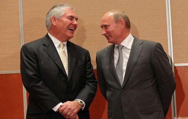 ABD'nin muhtemel dışişleri bakanı Putin dostu