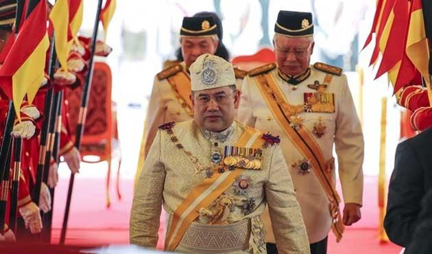Malezya'nın yeni kralı Sultan V. Muhammed