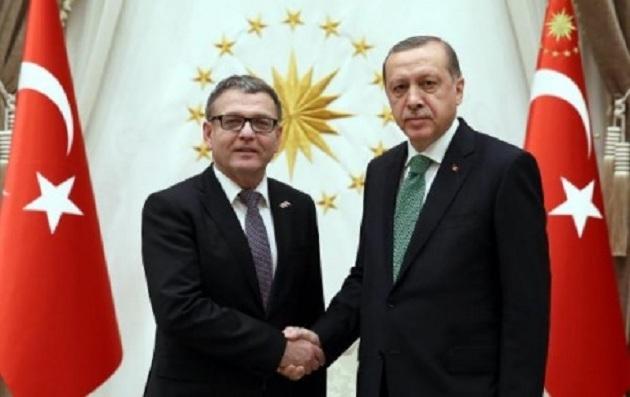 Erdoğan, Çekya Dışişleri Bakanı Zaoralek'i kabul etti
