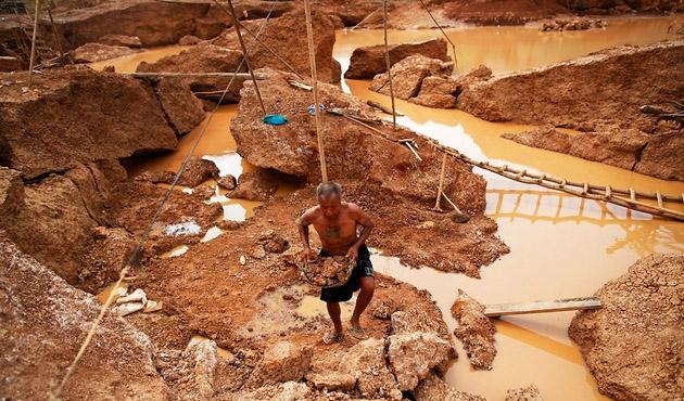 Tayland'da altın madenlerine yasak