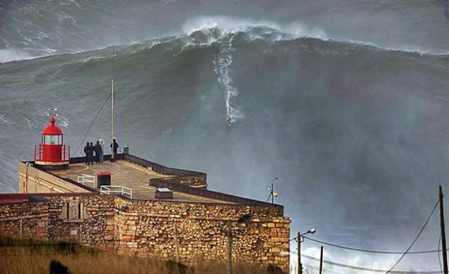 Dünyanın en büyük dalgası Kuzey Atlas Okyanusunda ölçüldü