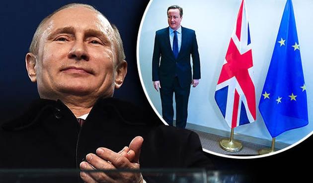 'Brexit'te Putin'in parmağı var' iddiası