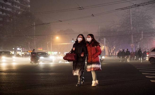 Çin'de hava kirliliğinde kırmızı alarm