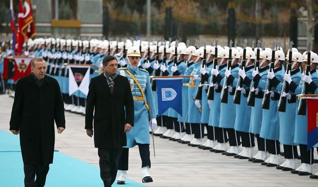Slovenya Cumhurbaşkanı Pahor Türkiye'de