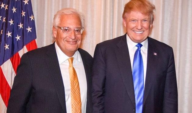 ABD'nin Tel Aviv Büyükelçisi: İsrail, ABD'siz barış görüşmelerine katılmaz