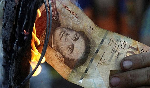 Venezuela'da 100'lük banknotların süresi uzatıldı