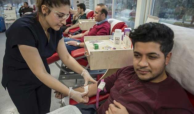 148 yıllık Kızılay tarihinin en yüksek kan bağışı