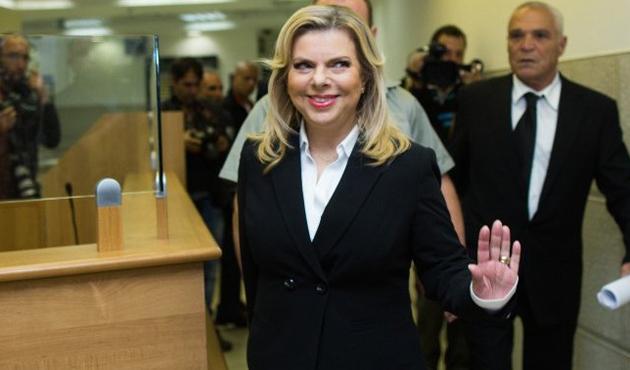 İsrail Başbakanı Netanyahu'nun eşi ifade verdi