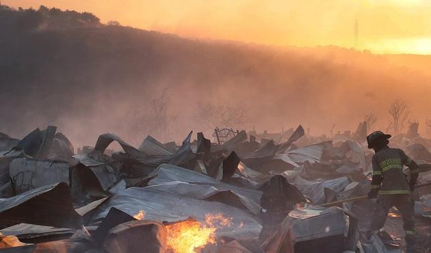 Şili'de yangın, OHAL ilan edildi