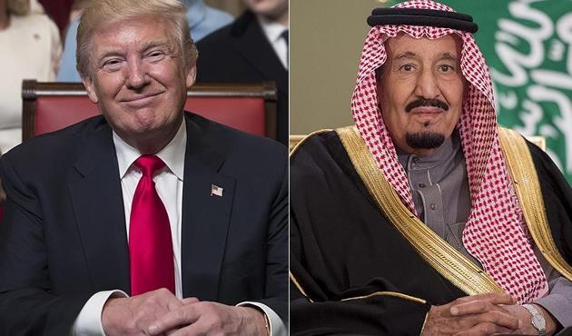 Trump, Kral Selman ile 'Katar krizini' görüştü
